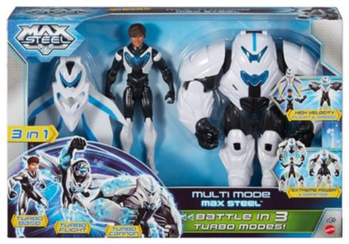 MAX STEEL S TURBO MÓDY