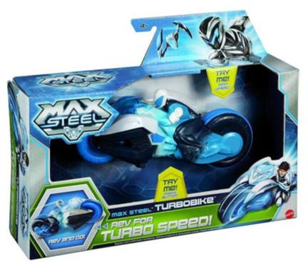 Max Steel TURBO MOTORKA