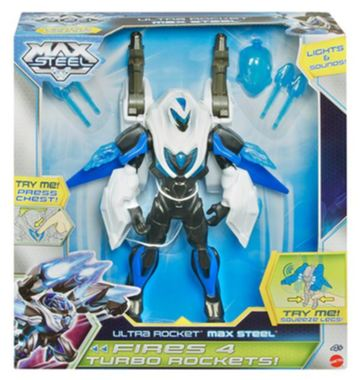 Max Steel TURBO RAKETOVÝ MAX STEEL