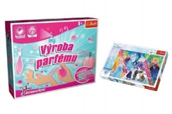 PACK Science for you Výroba parfémů + Puzzle Frozen 260 dílků