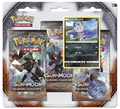 POK: SM3 Burning Shadows 3 Blister Booster
