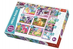 Puzzle My Little Pony 10v1 v krabici 40x27x6cm