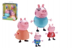 TM Toys PEPPA PIG - set figurek 4ks